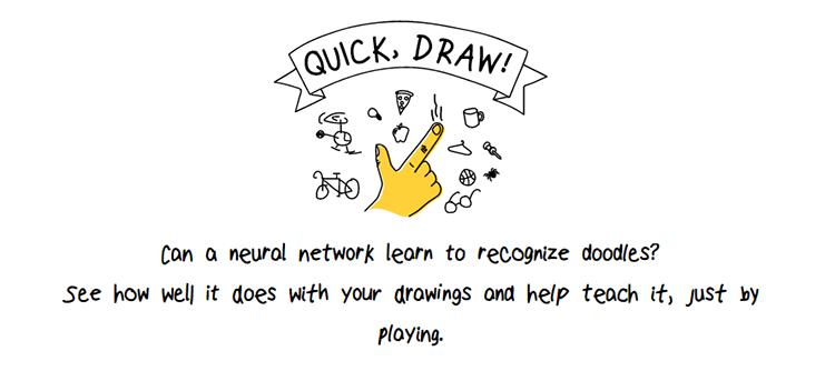 Экспериментальная игра от Google: нейронная сеть угадывает каракули пользователей