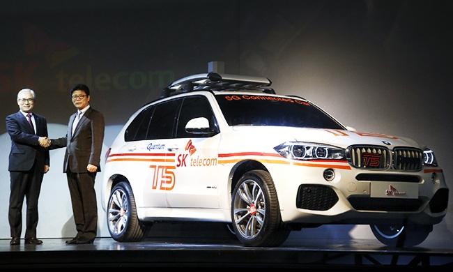 BMW первой протестировала 5G-сети в автомобилях