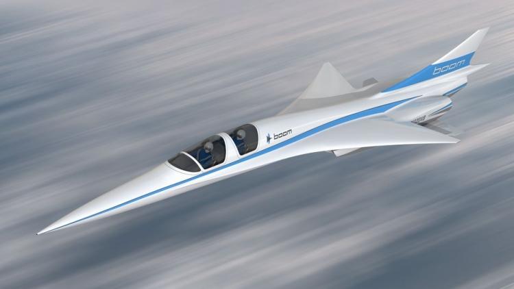 Boom показала прототип сверхзвукового пассажирского самолёта XB-1