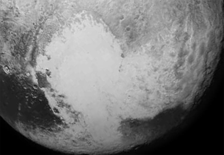 «Сердце» Плутона может скрывать вязкий океан