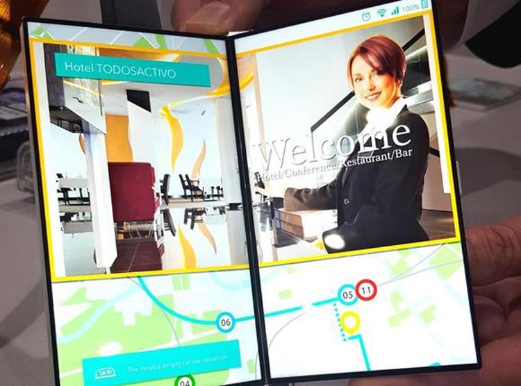 В Japan Display создан экран-книжка для смартфонов