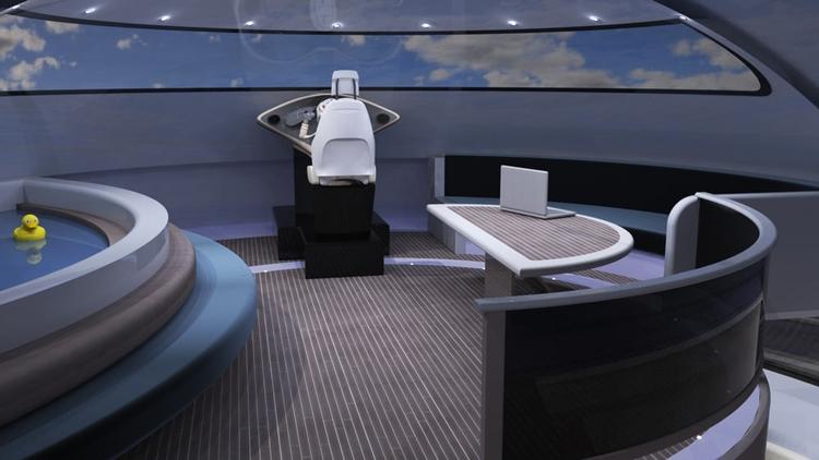 Фото дня: Jet Capsule UFO 2.0 — неопознанный плавающий объект