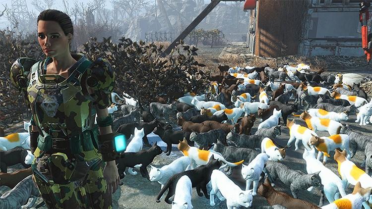 PS4-версия Fallout 4 получит поддержку модов и PS4 Pro на этой неделе