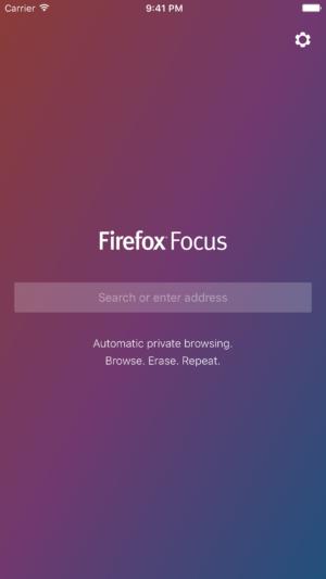 Firefox Focus: новый конфиденциальный браузер для iOS