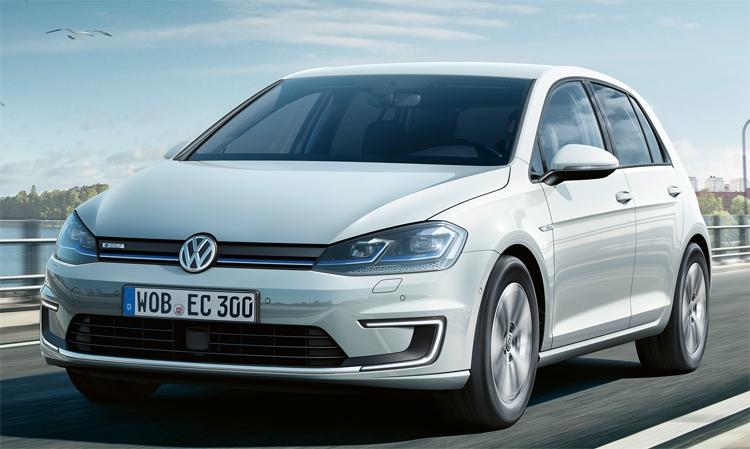 Volkswagen 2017 e-Golf: компактный электромобиль с запасом хода в 200 км