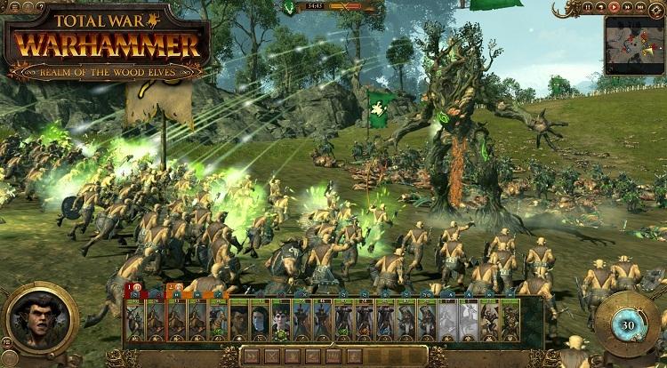 Крупнейшее DLC к Total War: Warhammer посвятят эльфам