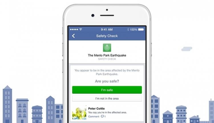 Facebook анонсировала пространство для поиска и оказания помощи пострадавшим во время инцидентов
