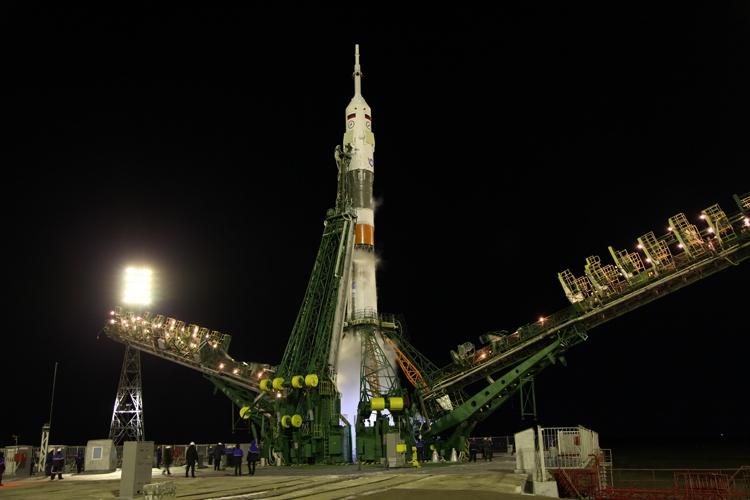 Юбилейная экспедиция успешно стартовала к МКС на корабле «Союз МС»