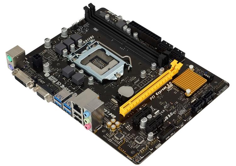 Плата Biostar B150MD Pro D4 подходит для бизнес-компьютеров и медиацентров