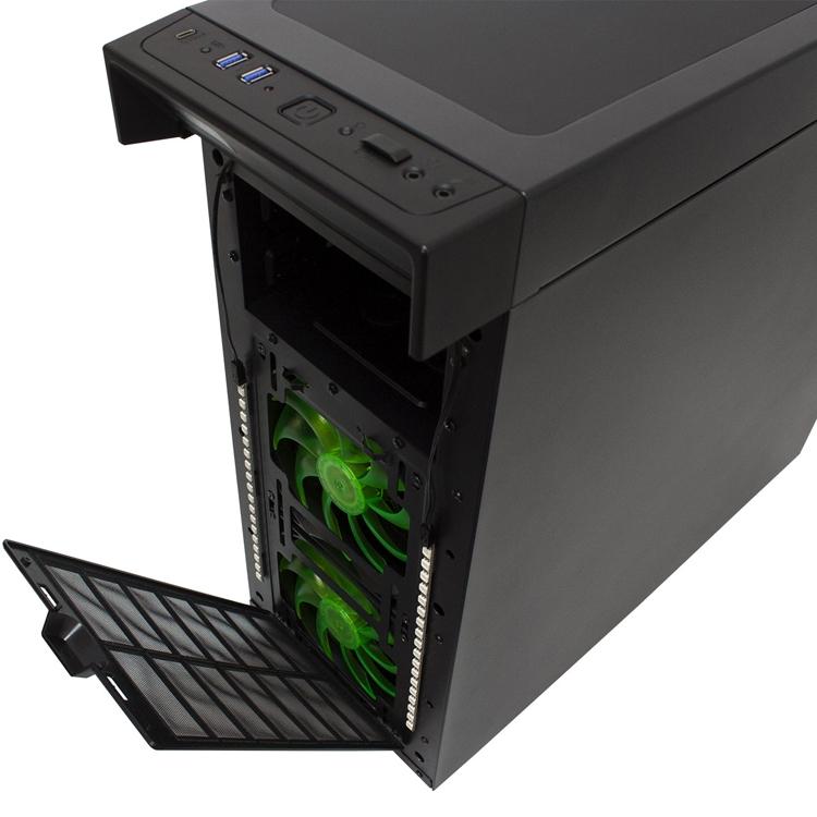Nanoxia CoolForce 1: корпус для «энтузиастов жидкостного охлаждения»