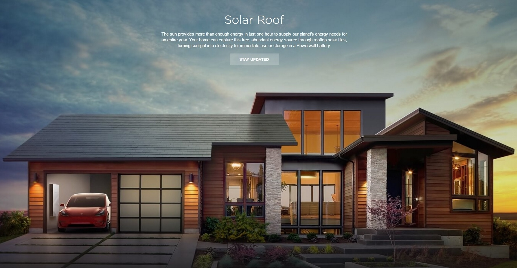 «Солнечная крыша»Tesla обойдётся дешевле обычной кровли