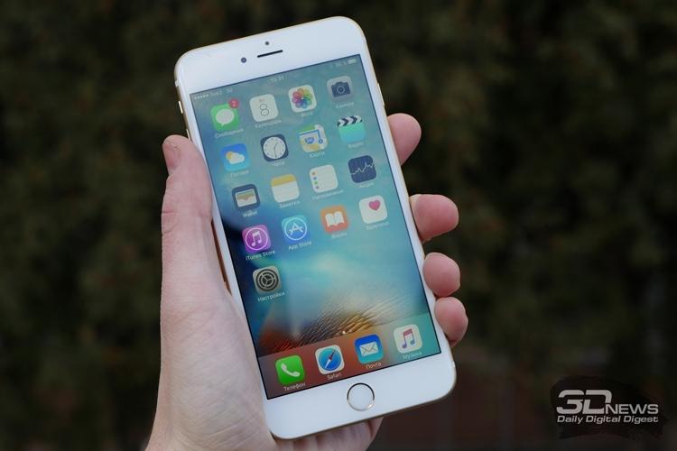 Apple бесплатно поменяет дефектные батареи в iPhone 6s