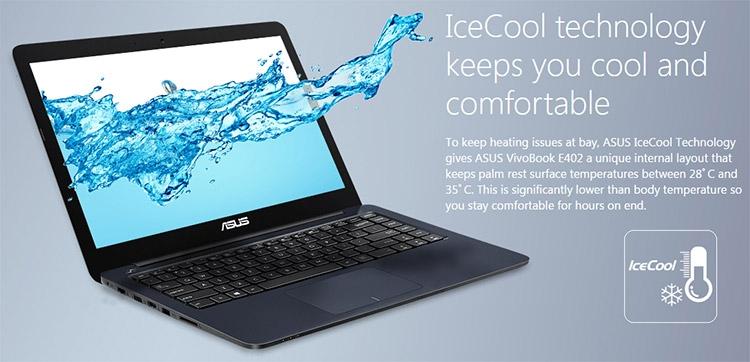 Новые ноутбуки ASUS VivoBook E402NA, E403NA и E502NA оснащены SoC Apollo Lake