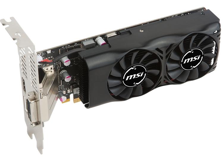 Новый ускоритель MSI GeForce GTX 1050 Ti имеет низкопрофильное исполнение