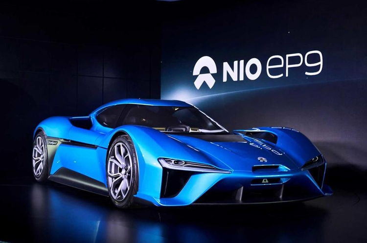 NextEV Nio EP9: электрический гиперкар мощностью 1360 лошадиных сил