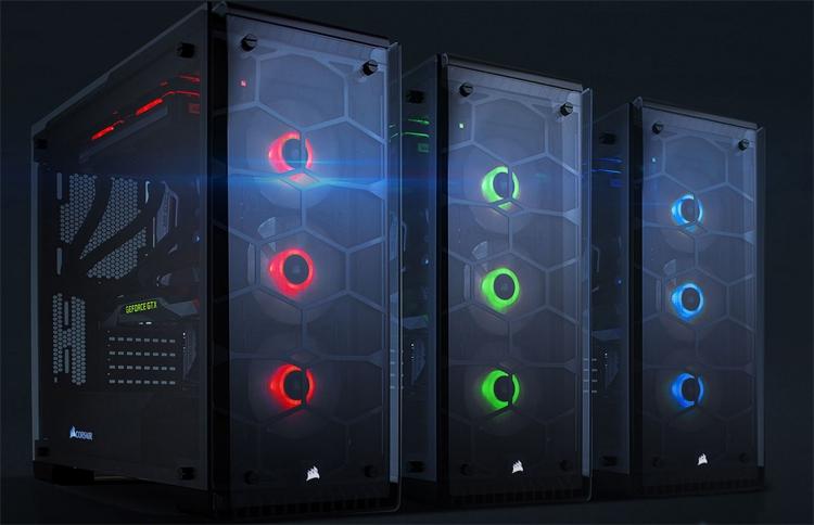 Корпус Corsair Crystal 570X RGB: закалённое стекло с четырёх сторон