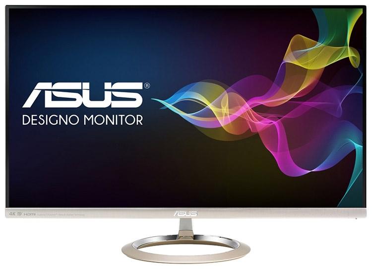 ASUS MX27UC: 4K UHD и USB-C в «дизайнерском» мониторе