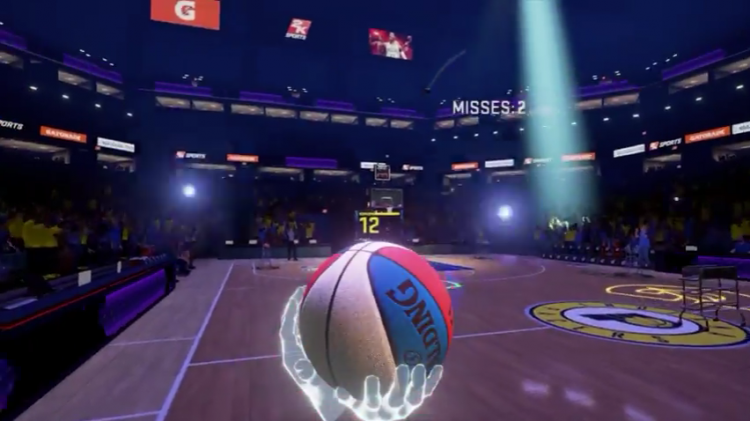2K анонсировала NBA 2KVR Experience для владеющих VR-шлемами фанатов баскетбола