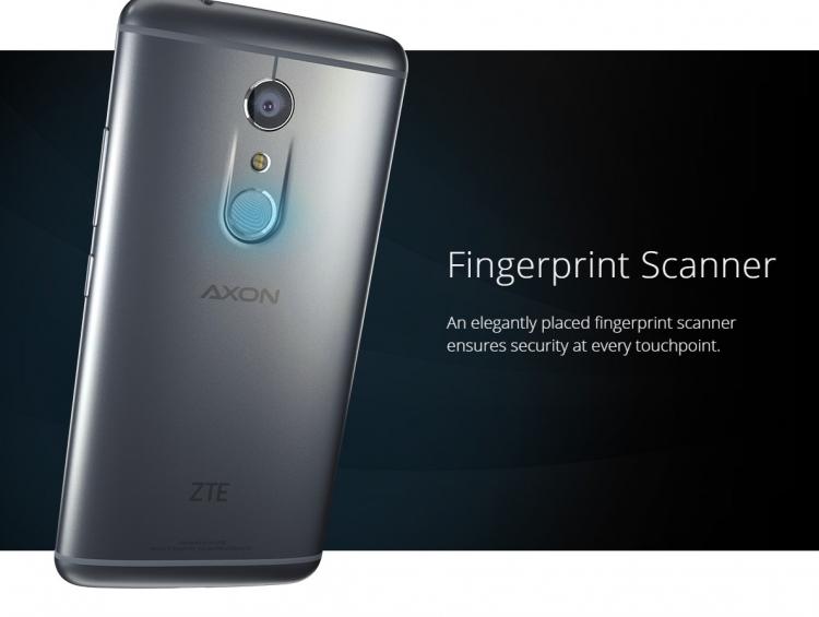 ZTE Axon 7обзавёлся 6 Гбайт ОЗУ и дисплеем c Force Touch