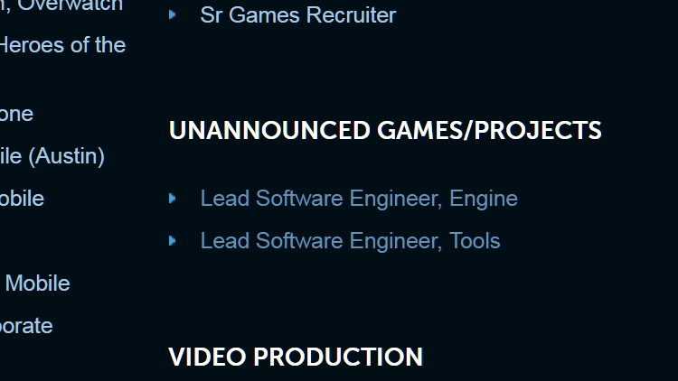 Blizzard ищет разработчиков для новой игры с видом от первого лица