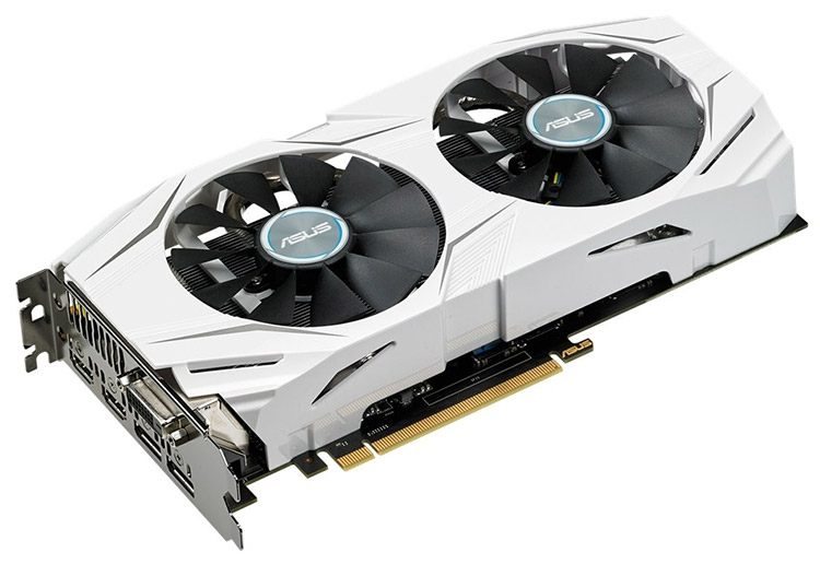Видеокарта ASUS Dual Radeon RX 480 OC
