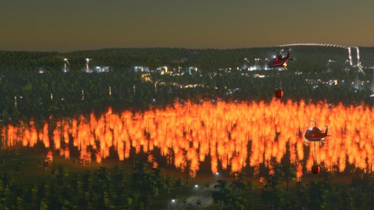 Стихийные бедствия добавят в Cities: Skylines на следующей неделе