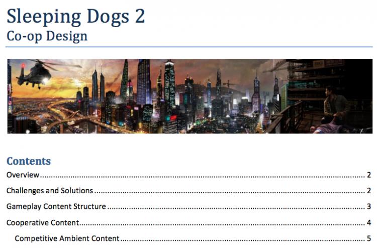 В Сеть попали подробности несостоявшейся Sleeping Dogs 2
