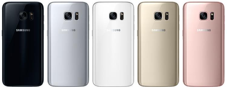 Samsung перекрасит Galaxy S7 в «чёрный глянец»