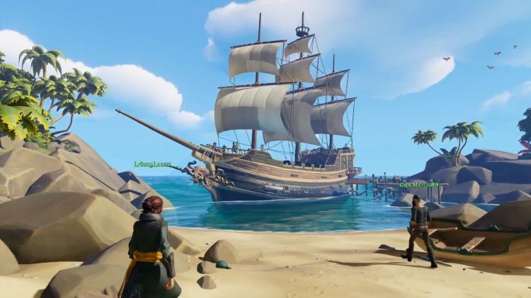 В Sea of Thieves можно будет сыграть до релиза
