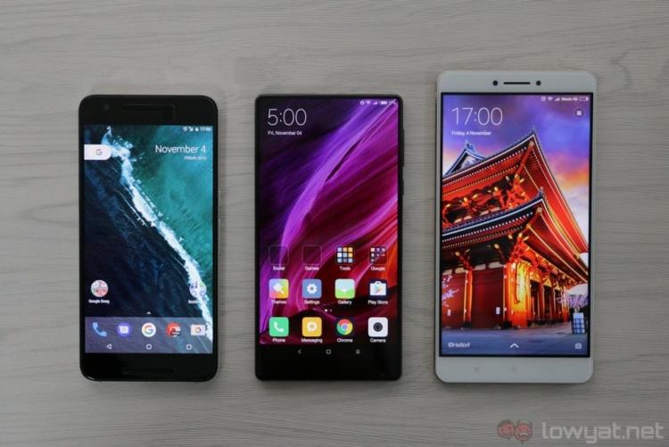 Xiaomi опровергла факт работы над безрамочным смартфоном Mi Mix Nano