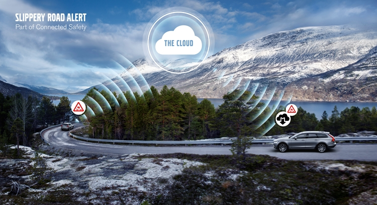 Новые системы безопасности Volvo полагаются на обмен данными между автомобилями