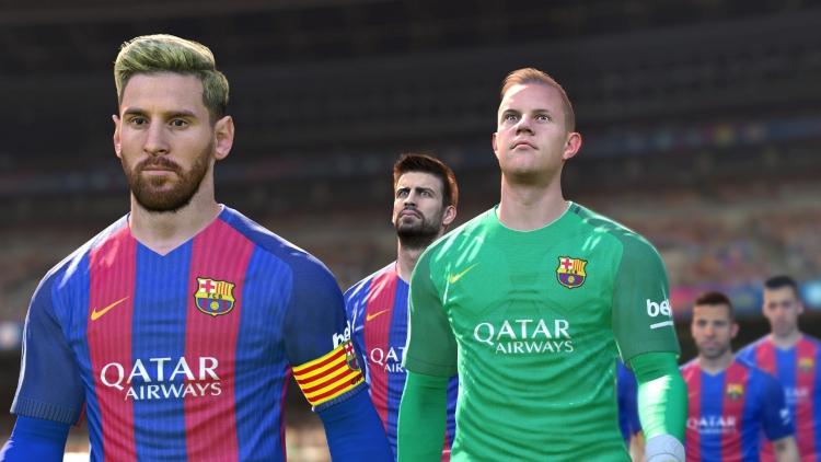 Konami выпустила пробную версию футбольного симулятора PES 2017