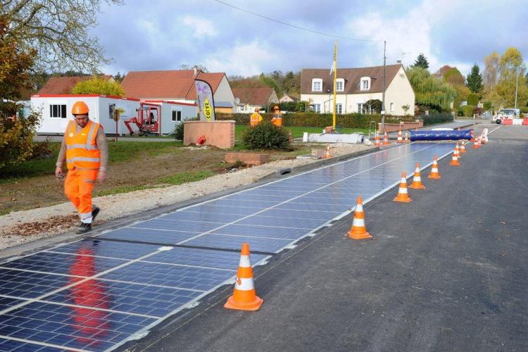 В 2017 годуColasбудет строить дороги из солнечных панелей на четырёх континентах