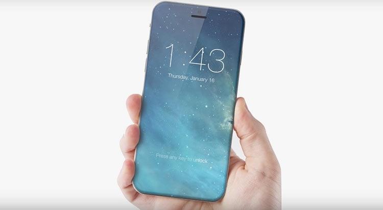 iPhone 8 получит полностью стеклянный корпус