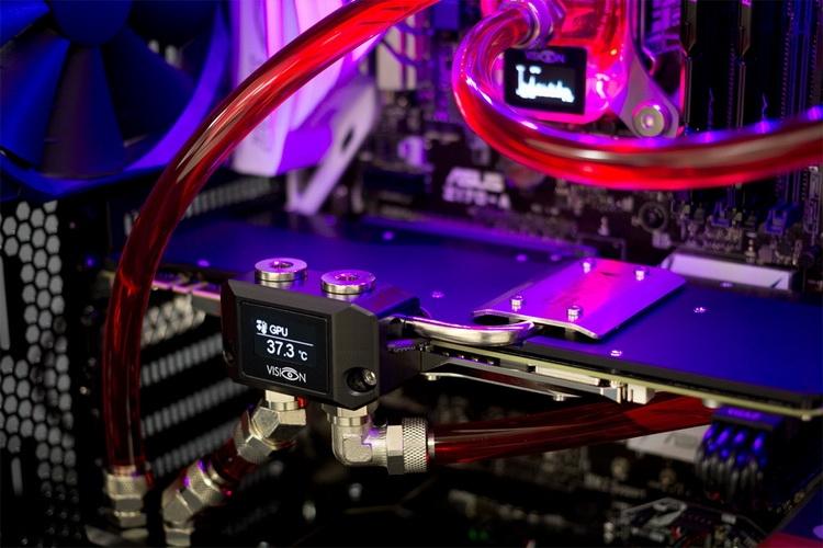 Aqua Computer представила серию контроллеров СЖО VISION