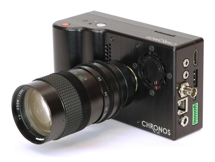 Камера со скорострельностью 21,6 тыс. к/с ставит рекорды на Kickstarter