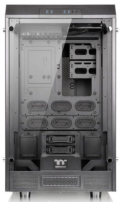 Корпус-витрина Thermaltake The Tower 900 поддерживает 560-мм радиаторы