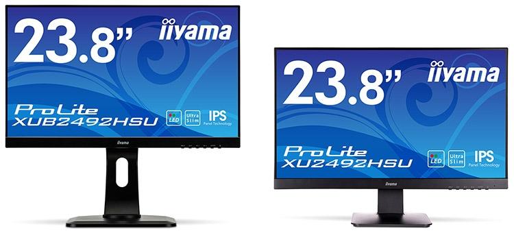 Iiyama выпустила мониторы ProLite с 6,3-мм рамкой