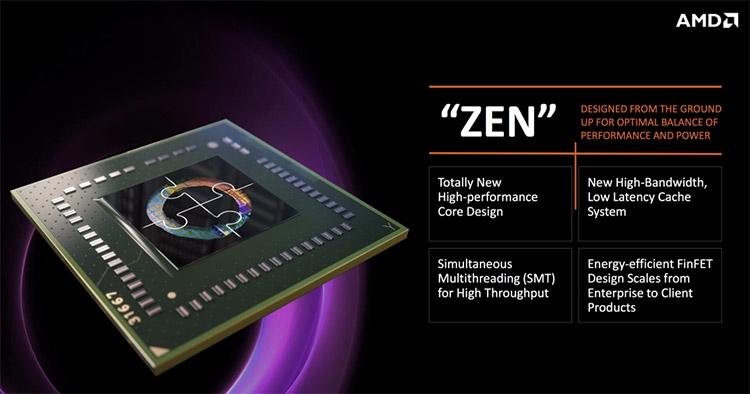 Старший процессор AMD Summit Ridge (Zen) будет стоить почти $600