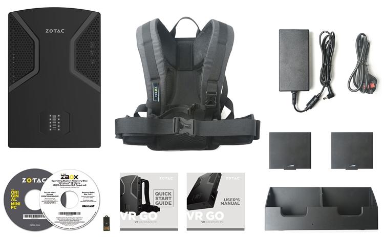 Zotac VR Go: система виртуальной реальности в рюкзаке