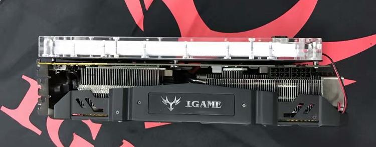 Ускоритель Colorful iGame GTX 1080 Kudan займёт четыре слота расширения
