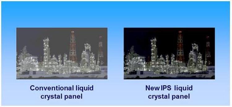 В Panasonic создан первый IPS-дисплей с контрастностью более 1000000:1