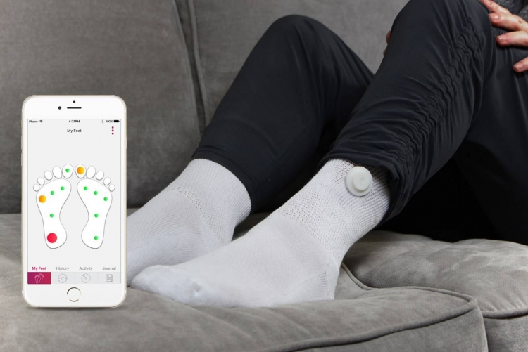 Siren Care: смарт-носки для диабетиков, отслеживающие состояние стоп