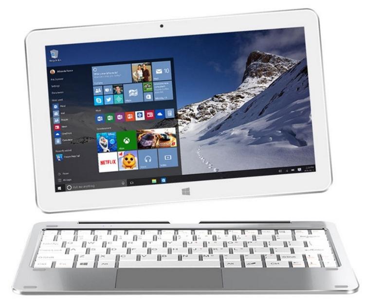 Гибридный планшет Cube Mix Plus выполнен на платформе Intel Kaby Lake