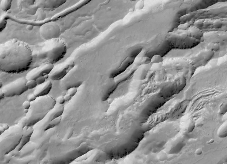 Обнародованы первые результаты наблюдений Марса с борта аппарата TGO
