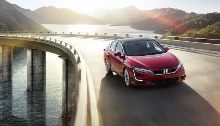 Седан Honda Clarity Fuel Cell на топливных элементах добрался до Европы