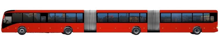 В Volvo разработан самый большой в мире автобус