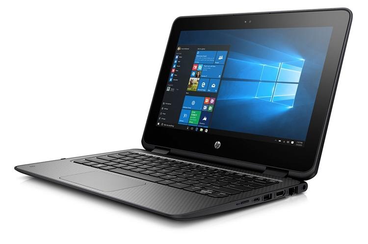 Прочный ноутбук-трансформер HP ProBook x360 11 G1 рассчитан на учащихся