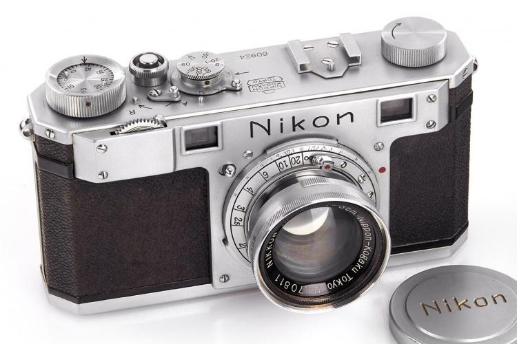 Старейшая из сохранившихся камер Nikon продана на аукционе за €384 000