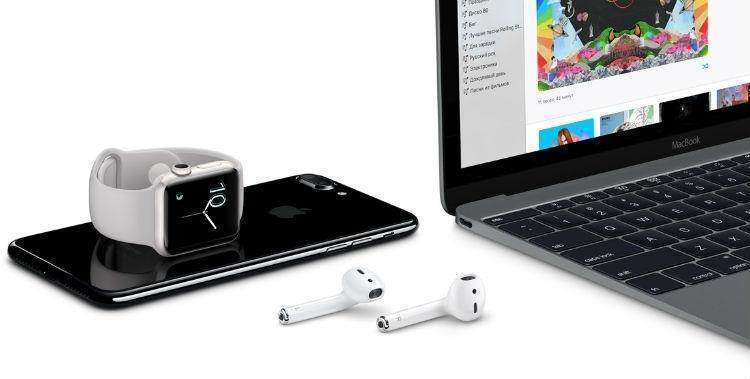 Apple обещает выход беспроводных наушников AirPods в ближайшее время